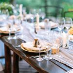 Great Ideas for Outdoor Food at a Wedding Blog Image