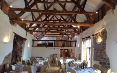 The Corn Barn – Cullompton – Devon Wedding Venue