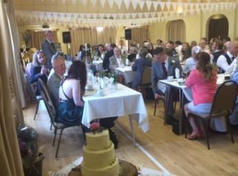 Wedding at Filleigh Village Hall