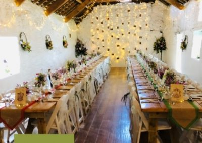 Tamsin and Jack's wedding at The Old Barn, Clovelly